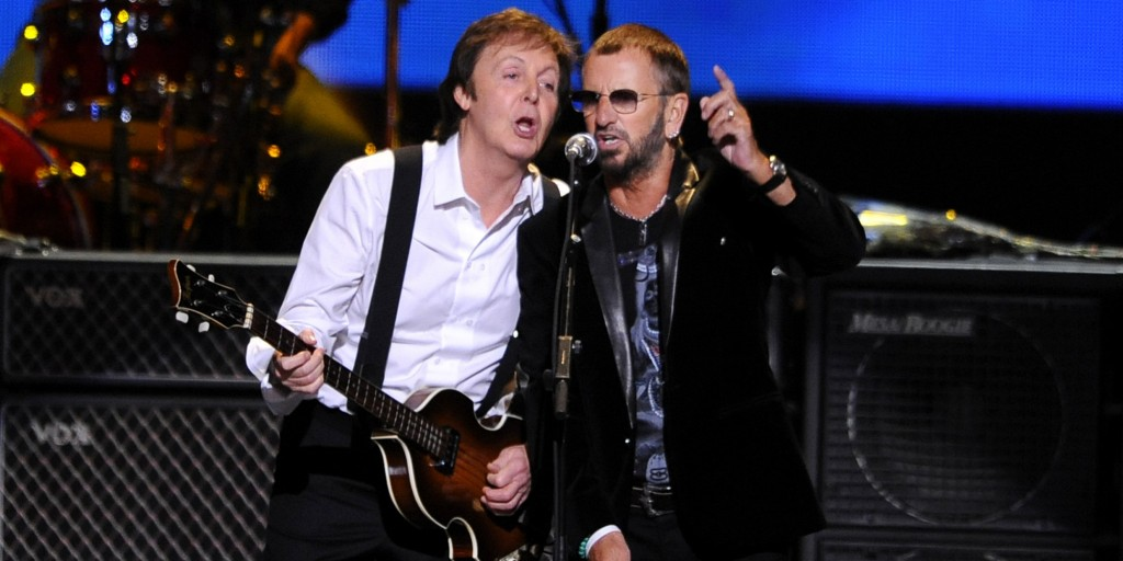 Paul McCartney, Ringo Starr