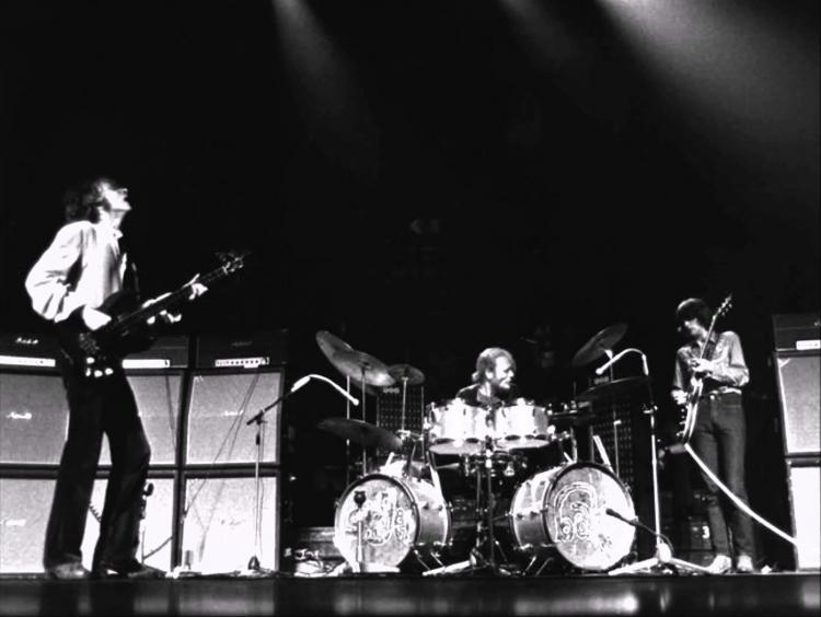 Cream Sunshine of your love on stage