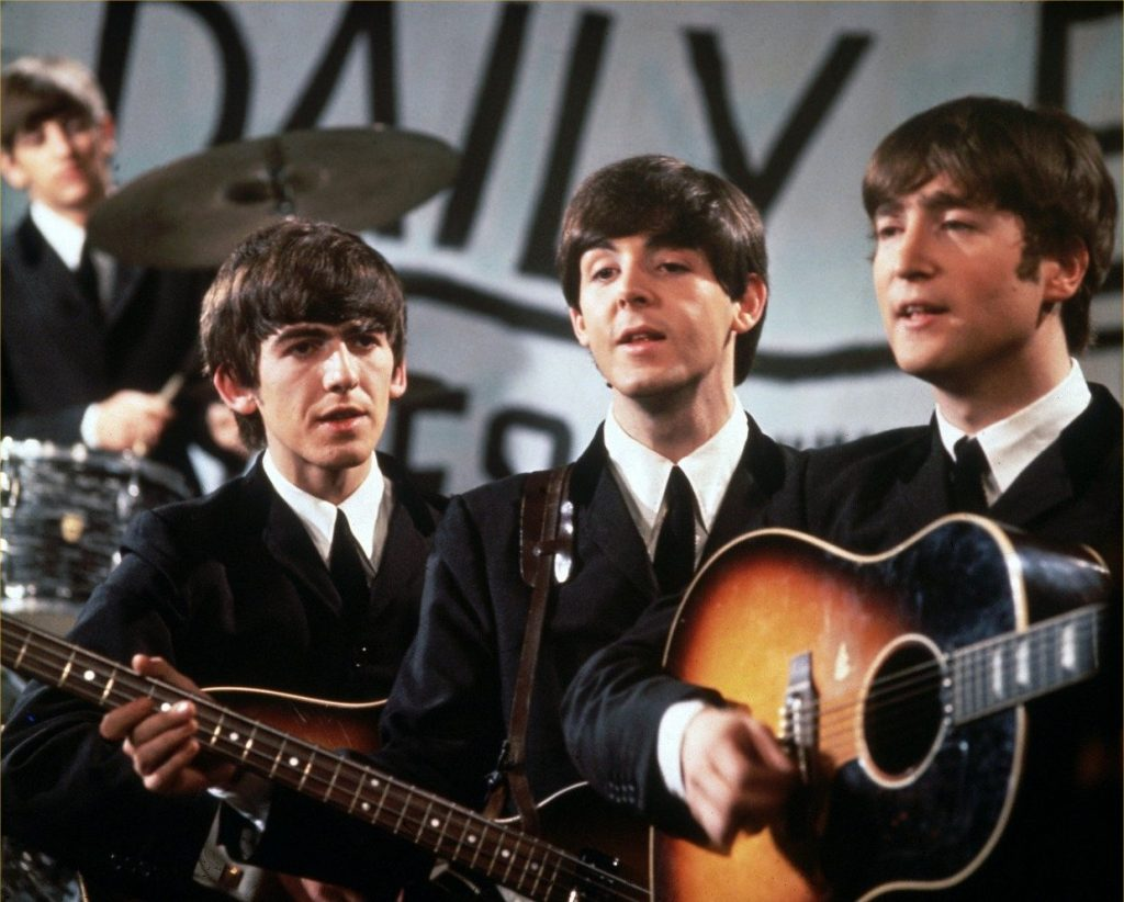 the-beatles-perform