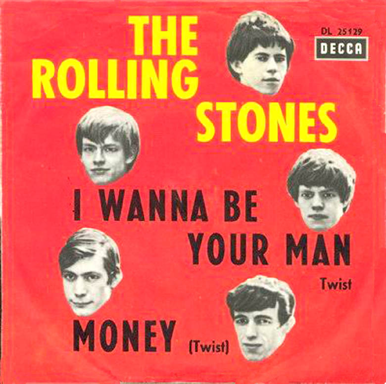 rolling stones be your man picture sleeve